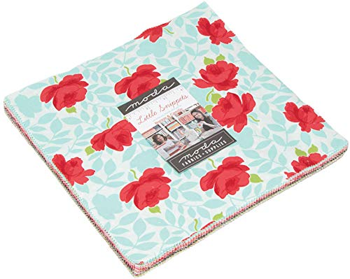 Bonnie & Camille Little Snippets Layer Cake 42 10-inch Squares Moda Fabrics...