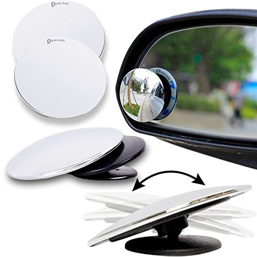 Zento Deals Blind Spot Adjustable Mirrors - 2-Pack Superior - Detector Shape Face Online