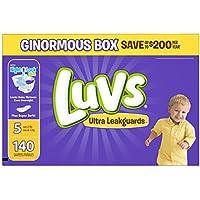Luvs Ultra Pañales anti filtraciones, 10037000976841, talla 5, 1, 1