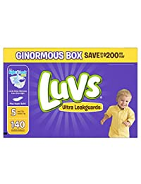 Luvs Ultra Leakguards Diapers Size 5, 140 Count BOBEBE Online Baby Store From New York to Miami and Los Angeles
