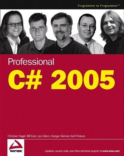 Download Professional C# 2005 pdf epub