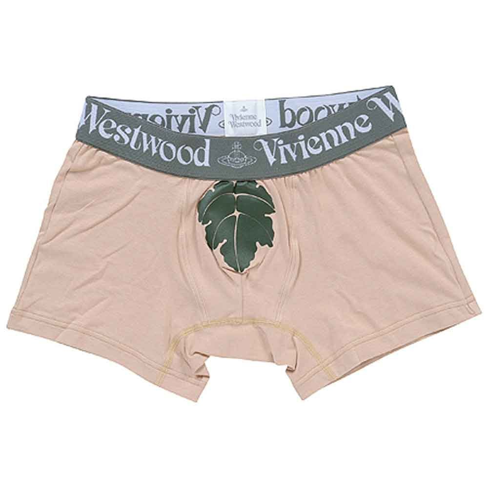 Vivienne Westwood Boxer Brief Leaf Beige VW-118 Men's underwear L(84-94)