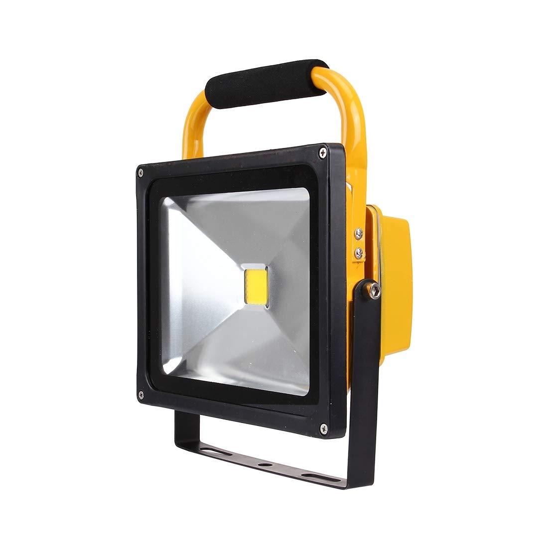 30W 3400LM寿命防水LEDハンドヘルド充電式投光器ランプ、AC 100-240V、EUプラグ 屋外ライト B07TS8SY2V