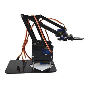 Amazon com: KKmoon Raspberry Pi Robot Hand Mechanical Arm