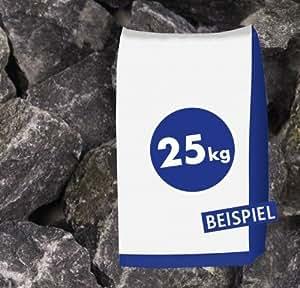 25kg Gaviones piedras Basalto rotura Antracita 40–70mm–Muro Protección, Jardín, estanque, piedra