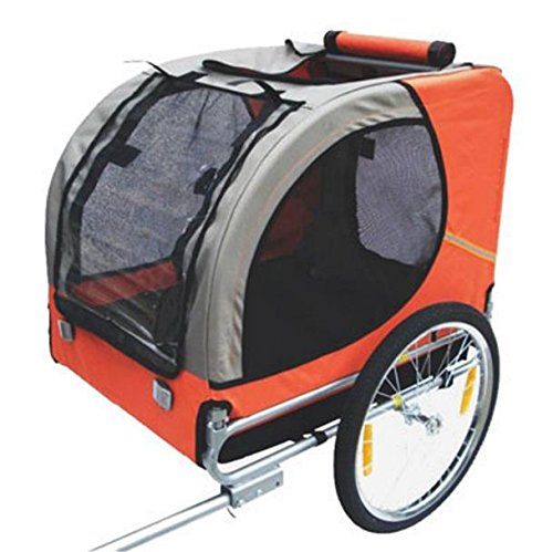 SKB Family Dog Bike Trailer Orange New Stroller Pet Carrier