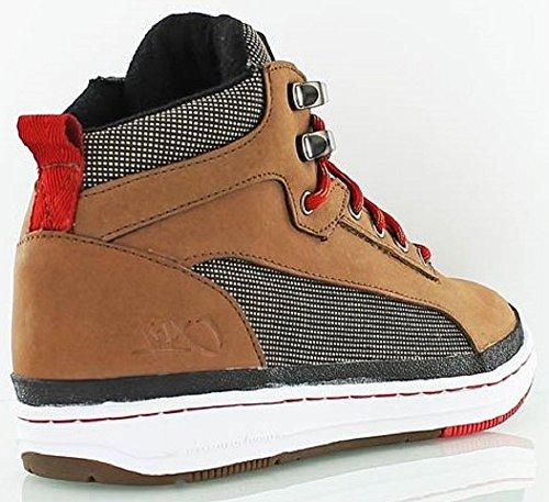 K1X - Zapatillas para hombre - amarillo oscuro/rojo