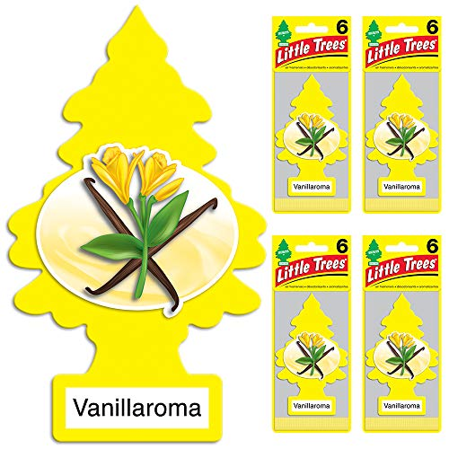 LITTLE TREES Car Air Freshener | Hanging Tree Provides Long Lasting Scent -