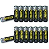 Powerex MH-8AA270-BH 2700mAh 16-Pack AA NiMH Rechargeable Batteries w/Carrying Case