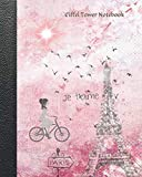 img - for Eiffel Tower Notebook: A French Themed Blank Composition Notebook book / textbook / text book