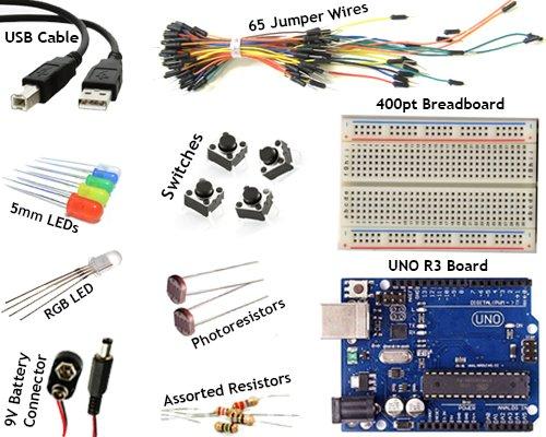 Arduino Uno R3 Kit 16 HERTZ (0KGF10OE)