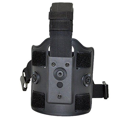 Tactical Scorpion Gear TSG-DLP Modular Polymer Drop Leg Platform - Black