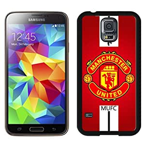 Hot Sale Samsung Galaxy S5 I9600 Case ,Manchester United 1 Black Samsung Galaxy S5 Cover Unique And Popular Designed Phone Case