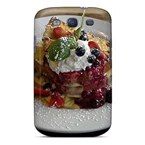 [cZM2894yzfJ]premium Phone Case For Galaxy S3/ Creme Brulee French Toast Tpu Case Cover