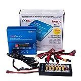 MEEDEN Auténtico SKYRC IMAX B6AC V2 2S-6S RC Balance Cargador de batería y descargador con tarjeta de carga paralela para RC Hobby LiPo LiLe LiFe NiCd NiMH Pb Baterías de plomo ácido
