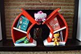 2' Cat In The Hat Bookcase
