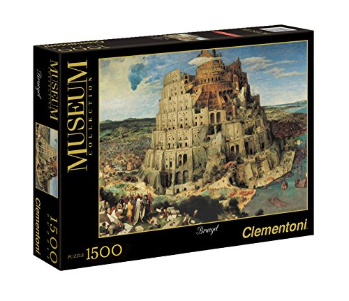 Clementoni Bruegel The Tower of Babel Puzzle (1500-Piece)