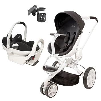 Amazon.com : Travel System: Quinny Moodd Stroller & Maxi-Cosi Prezi ...