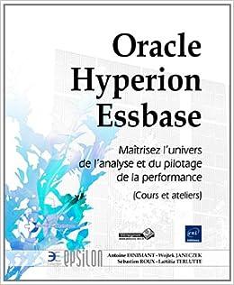 Oracle Hyperion Essbase - Maîtrisez l'univers de l'analyse
