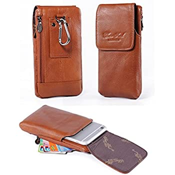 Amazon.com: Belt Case Holster with Clip,Vertical Leather