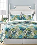 Martha Stewart Collection Antique Patchwork Artichoke Twin Quilt