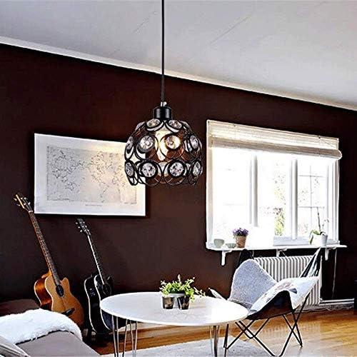 Kronleuchter, Metall hohl Cup Nordic Vintage Schmiedeeisen kreative Persönlichkeit für Küche/Esszimmer Schlafzimmer/Café/Bar/Restaurant