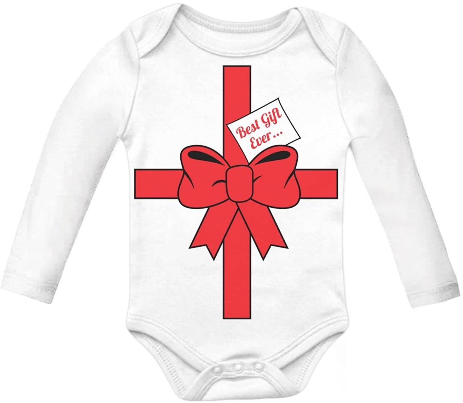Amazon TeeStars Best Gift Ever Baby Long Sleeve Bodysuit