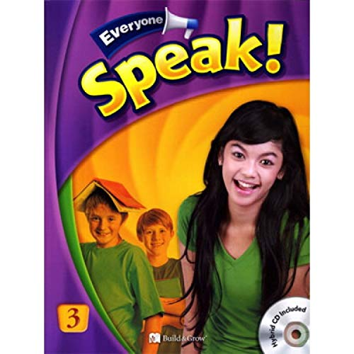 Everyone Speak! 3: Student's Book with Audio CD