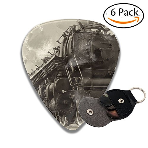 Electric Locomotive Type - Wxf A Or Northern Type Steam Train Engine Built By The Montreal Locomotive Works For Colorful Celluloid Guitar Picks Plectrums For Guitar Bass .96mm 6 Pack