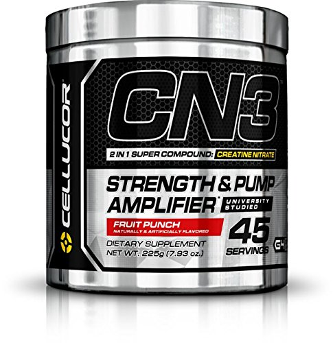 Cellucor CN3 Strength and Pump Amplifier, Fruit Punch, 7.93 Ounce