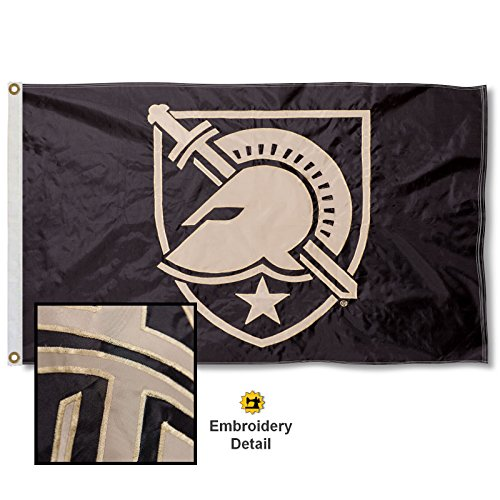 West Point Embroidered and Stitched Nylon Flag ()
