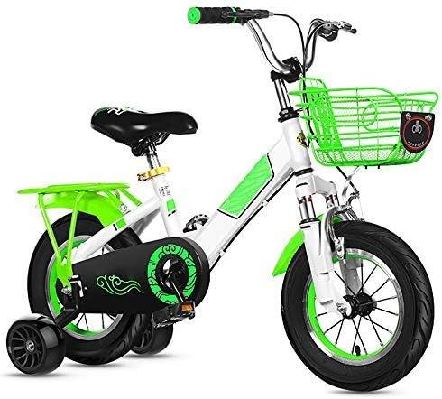 YSA 子供用自転車、子供用自転車TrainingWheel12 / 14/16/18/20インチの男の子と女の子のサイクリング、6-11歳の子供に適していますトレーニングホイール付き