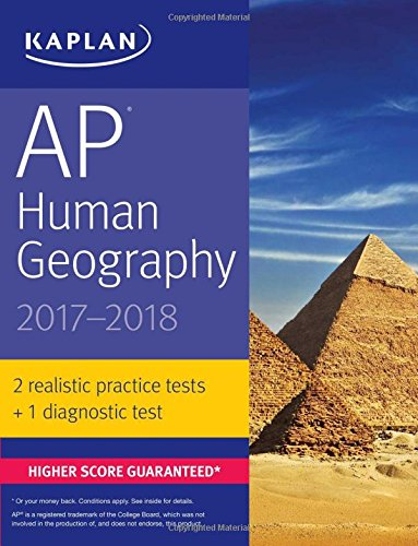 Pdf Education AP Human Geography 2017-2018 (Kaplan Test Prep)