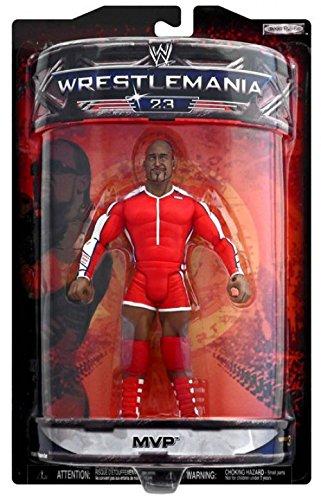 WWE Summer Slam Road to Wrestlemania 23 Exclusive Series 3 Action Figure MVP by WWE
