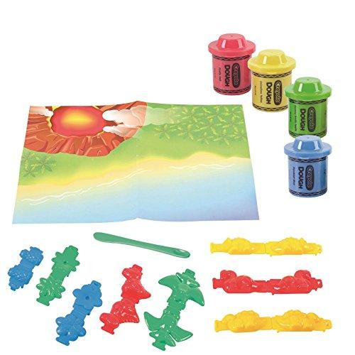 Crayola Modeling Dough Dino Island - 23 pieces JungleDealsBlog.com
