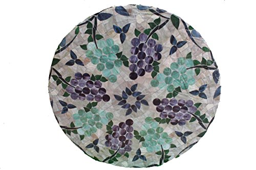 Mosaic Dining Table Green (Mosaic Table Cloth Round 36