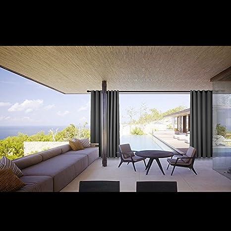 High Quality Cololeaf Outdoor Curtain Panels For Patio, Porch, Gazebo, Pergola, Cabana,  Dock