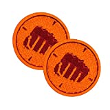 Team Fortress 2 Heavy Patches: Set of 2, Team Red