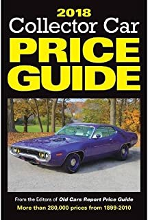 2017 collector car price guide from the editors of old cars report rh amazon com classic car price guide free online classic car price guide free