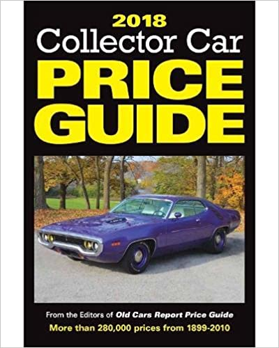 Using classic car price guides.