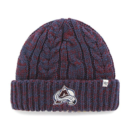 NHL Colorado Avalanche Women's '47 Prima Cuff Knit Beanie, Timber Blue