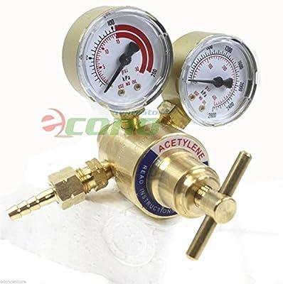 Solid Brass Replacement Acetylene Regulator 4 Welding Victor Gas Torch Cutting