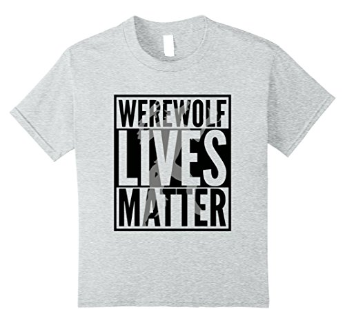 Kids Funny Halloween Costume Ideas 2017 Werewolf Shirt 10 Heather (Last Minute Halloween Costumes 2017)