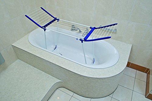 Wäscheständer Badewanne leifheit 81704 standtrockner pegasus 120 compact blau amazon de