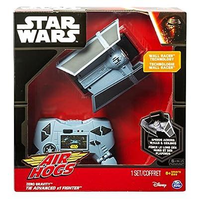 Air Hogs Star Wars Remote Control Zero Gravity TIE Advance X1: Toys & Games