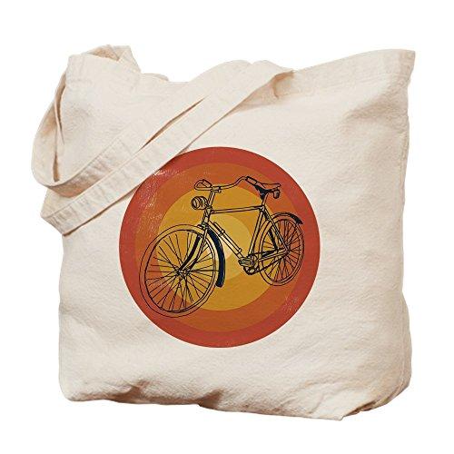 CafePress - Bicycle - Natural Canvas Tote Bag, Cloth Shopping Bag (Tote Bicycle)