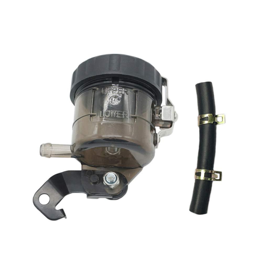 Lefossi Gray Universal Motorcycle Front Brake Master Cylinder Brake Pump Tank Oil Cup Fluid Bottle Reservoir w//Bracket For Kawasaki ZX6R ZX 636 Ninja636 ZX-6R 636 2013 2014 2015 2016