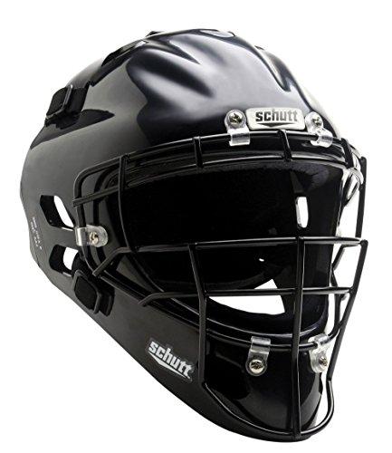 Schutt Sports Air MAXX Hockey-Style Catcher's Helmet with Steel Faceguard Cardinal – DiZiSports Store