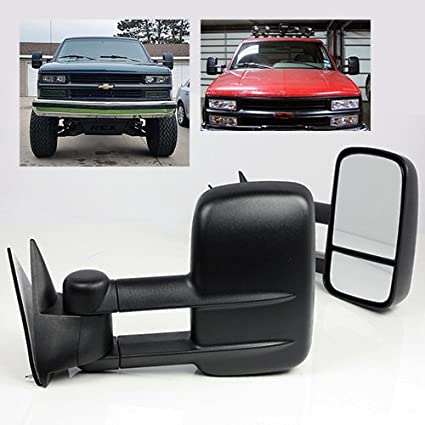 amazon com modifystreet manual extendable side towing mirrors for rh amazon com 1999 chevy tahoe owners manual 1999 chevy tahoe service manual pdf