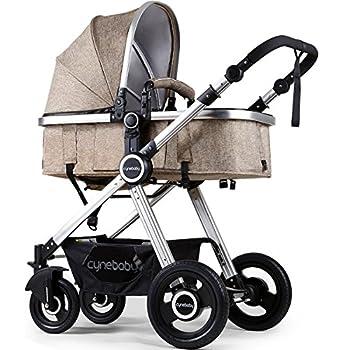 Amazon.com: Babyjoy - Cochecito plegable 2 en 1 para bebé ...